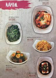 seoulgarden hotpot puchong jaya menu