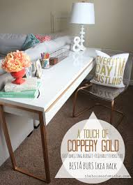 dual use furniture. a long narrow desk takes up little floor space making it perfect fit for small spaces dual use as sofa tabledesk i think love furniture