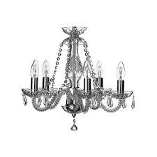galway crystal leenane five arm chandelier
