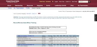 How To Submit Club Officer Training Reports - Toastmasters Uk South ...