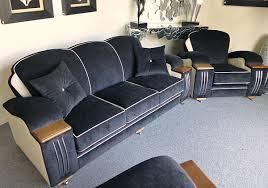 new art deco furniture. art deco seating in blue new furniture n