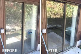 removing a sliding glass door window repair removing sliding glass door panel