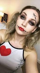 cute voodoo doll makeup tutorial