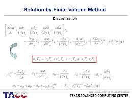 7 solution by finite volume method discretization