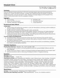 Social Work Resume Templates Entry Level Inspirational Social Work