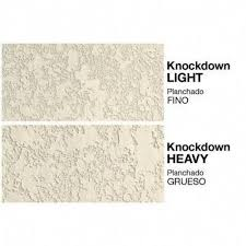 knockdown texture walls