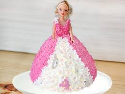 Barbie Theme Cake 1 Barbie Blush Cake Bakingo