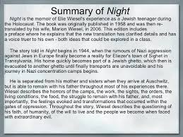 on the book night by elie wiesel essay on the book night by elie wiesel
