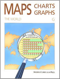 Modern Charts And Graphs By Modern Curriculum Press Maps Charts And Graphs Level G