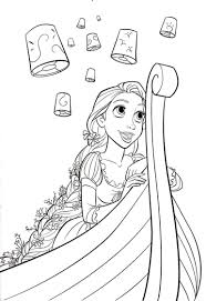 Small Picture From Disneys Tangled Movie Coloring Page Tangled Coloring Pages In