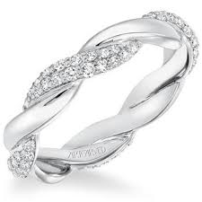 artcarved wedding bands. artcarved diamond twist wedding band or anniversary ring bands -