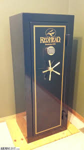 Redhead gun safe battery