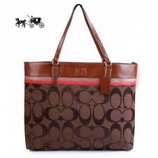 Quick View · Coach Borough In Signature Large Coffee Totes Outlet Sale VIP  Shop ...