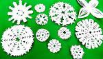 Снежинки как делать снежинки из бумаги своими руками