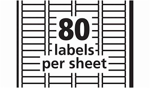 80 Labels Per Sheet Template Avery Return Address Labels 80 Per Sheet Template Wcc Usa Org