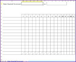 Little League Roster Template Fresh Little League Baseball Scorecard Canadian Scores