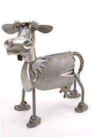 cow metal sculpture cow art and more