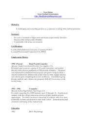 Job Resume Template