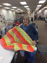 Ozarks Quilters Piece Together A Strong Tradition | KSMU Radio & Ozark Piecemakers Quilt Guild Member Marilyn White Puts Final Touches On A  Squad Car Quilt Adamdwight.com
