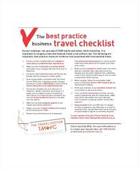 Sample Checklist In Word Travel Packing List Template Checklist Word Business Images Of For