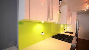 Painting Kitchen Backsplash Glass Painted Backsplash For Kitchen New York Youtube