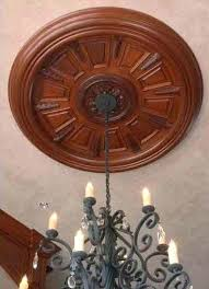 Wooden Ceiling Medallions
