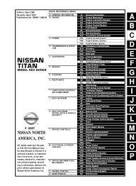 2008 Nissan Titan Service Repair Manual