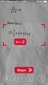 photomath lets you solve math problems using your ios device s