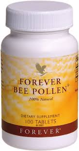Forever Bee Pollen® - Dietary Supplement- 100 Tablets - 100% Natural