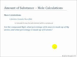 2. Relative Formula Mass (Mr) - YouTube