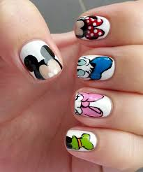 Stephsnails Disney Nail Art Mickey And The Gang At Stephsnails