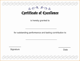 Certificate Of Excellence Template Word 100 Certificate Of Excellence Template Free BestTemplates 22