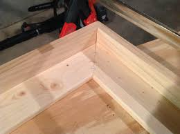 use a staple to add some ility to the frame corners once you clamp down you can staple both sides of the frame