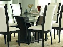glass top counter height table and chairs dining set round triangle dinner fascinating room large size