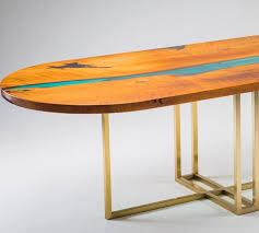 <b>Стол</b> Oval <b>River</b> Deux - овальный <b>стол</b> из дерева и акрила для ...