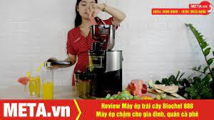 Cách sử dụng máy ép trái cây Biochef 888 - Máy ép chậm cao cấp cho nhà  hàng, gia đình - YouTube