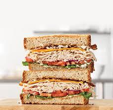 roast turkey ranch bacon sandwich