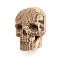 <b>Jack</b> - cardboard <b>skull</b> mask for self assembly.