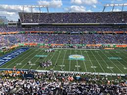Florida Citrus Bowl Seating Chart Camping World Stadium Citrus Bowl Stadium Journey