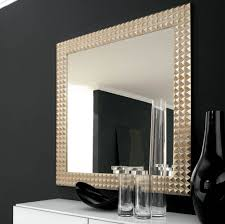 Wall Mirror With Crystal Frame Decoseecom