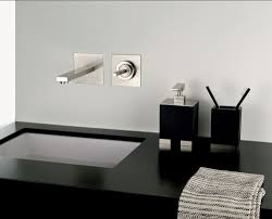 wall mount faucet with modern shape and design  traba homes