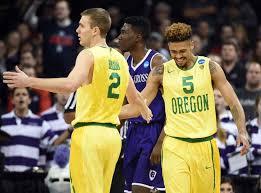 Updated NCAA Tournament bracket after Oregon advances