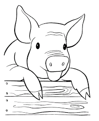 Small Picture Impressive Pig Coloring Pages Cool Colorings B 1205 Unknown