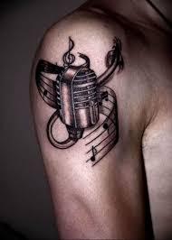 фото тату для мужчин музыка 15062019 007 Tattoos For Men Music