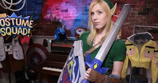 diy squad takes on a female version of link from the legend of zelda series