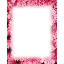 Floral Borders For Word Free Flower Borders For Word Document 40px Image 20