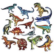 Coopay 14 Pieces <b>Dinosaur</b> Iron on Patches <b>Embroidered</b> Motif ...