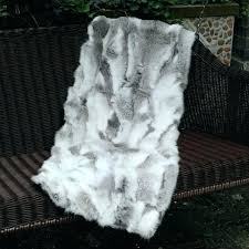 fur throw rug d custom made natural color rabbit real fur area rug hot throw rugs fur throw rug white gray faux