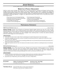 Marketing Resume Templates Resume Sample Of Marketing Manager Copy Resume Examples Templates 100