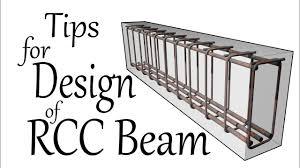 Civil Engineering Rcc Design Tips For Design Of Rcc Beam Civil Engineering Videos